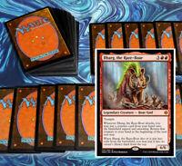 mtg RED ILHARG COMMANDER EDH DECK Magic the Gathering rare cards glorybringer