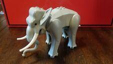 Lego Elephant Animal Figure - Light Gray - 7418 Scorpion Palace - Complete