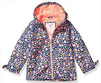 Carter's Girls Navy & Pink Floral Fleece Lined Jacket Size 2T 3T 4T 5 6 8 10 14