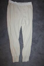Korean War Era U.S. Army Soldier's Cold Weather Heavy Cotton Underwear Pants