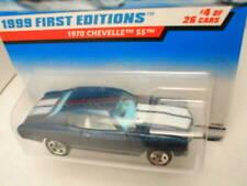 1999 FE #4 1970 CHEVELLE SS blue no hood pinstripes