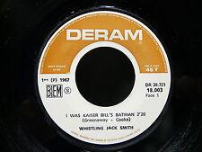 WHISTLING JACK SMITH I was Kaiser Bill's batman DERAM 18003 FRANCE