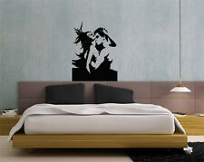 Wall Decor Vinyl Decal Sticker Kissing Couple Man And Woman tz984