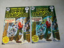 Dark Mansion #13 Cover Art, original Approval Cover Proof and Painting, 1970's