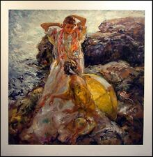 Royo Cala En Mallorca Serigraph SIGNED paper Edition Ocean Art SUBMIT BEST OFFER