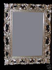 Specchiera  barocco foglia argento