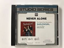 Studio Series - Barlowgirl - Never alone - accompaniment track christian cd new