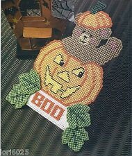 *Halloween Bear To Stitch - Pattern Only*Plastic Canvas Pattern*