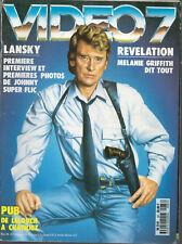 ▬►VIDEO 7 N° 87 (1989) JOHNNY HALLYDAY_LA GUERRE DES ÉTOILES_MELANIE GRIFFITH