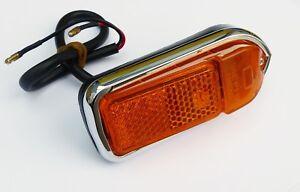 Lucas 54920 L824 Amber RH Front Side Marker Lamp for MGB Jaguar XJ6, BHA4968