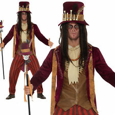 Smiffy's 46875l Deluxe Voodoo Witch Doctor Costume Large