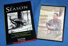 "Turkey Call book, Tom Kelly, ""The Season"" (2nd printing) and Turkey Tales Cd."