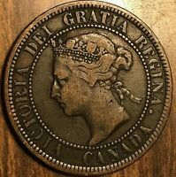 1884 CANADA LARGE CENT LARGE 1 CENT PENNY