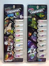 Bandai JoJo's Bizarre Adventure Tiger & Bunny Charanail Nail Chip Set of 2 (A)