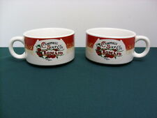 Set Of 2 Retro Label Campbell's Tomato Soup Cups