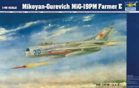 Trumpeter 9362804 Sowjetische MiG-19PM Farmer E 1:48 Jagdflugzeug Modellbausatz