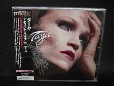 TARJA What Lies Beneath + 3 JAPAN CD Nightwish Apocalyptica Sinner Yngwie Rage