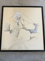 🔥 Antique Abstract Expressionist Mid Century Painting - Hans Burkhardt