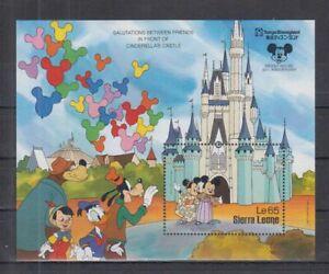 D459. Sierra Leone - MNH - Cartoons - Disney's - Cinderella's Castle
