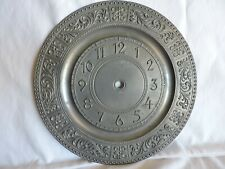 Pewter Clock Face with Angel Seal