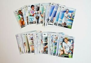 2019 Topps International Tennis Hall of Fame Lot of 48 Cards (No Federer/Nosaka)