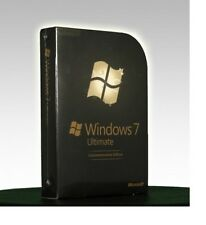 Microsoft Windows 7 Ultimate Commemorative Edition (Rare Collector; Retail Box)
