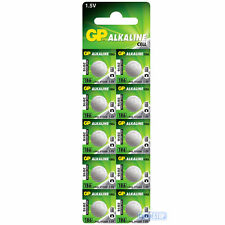 10 x LR43 GP 1.5V Alkaline Button Cell Watch Battery AKA AG12, A86, V12GA, L1142