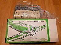 Vintage 1980s Spitfire aircraft plane model kit 1/72 USSR