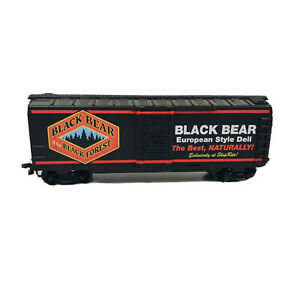 HO Life-Like Black Bear Deli Products Co. Advertising Box Car Freight Car