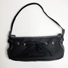 BCBGirls Women's Shoulder Hand Bag Black Purse Zipper Closure