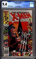 Uncanny X-Men 211 CGC Graded 9.4 NM Newsstand Marvel Comics 1986