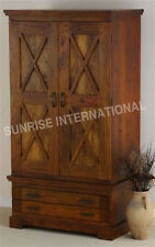 Romy Range Furniture - Wooden 2 door Cupboard / Wardrobe !!