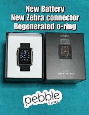 Smartwatch PEBBLE STEEL 401B - Excelente! - sn Q206245E009M