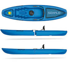 BLUE SEAFLO Solo Modular 2-Piece Sit On Top Kayak - Easy Storage/Transportation