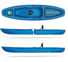 BLUE SEAFLO Solo Modular 2-Piece Sit On Top Kayak - Easy Storage/Transportation