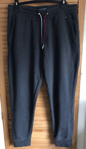 Tommy Hilfiger Grey Joggers Trousers, Size XL, Jogging Bottoms, (A6)
