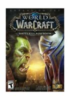 New! World Of Warcraft: Battle For Azeroth Expansion Set (PC, 2018)