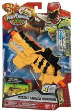 Real Power Rangers Dino Super Charge Missile Battle Morpher Launcher Kids Toy