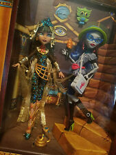 Monster High Cleo De Nile Ghoulia Yelps SDCC 2017 exclusive mattel new in box