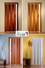 Porta a Soffietto in pvc PREZZO FINITO - Linea Pastello 9 colori a scelta