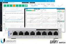 Ubiquiti Unifi Switch US-8-60W 8 porte Gigabit e quattro porte POE 802.3af