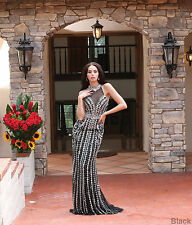 SALE RED CARPET DESIGNER EVENING PROM GOWN PAGEANT CELEBRITY WORTHY FORMAL DRESS