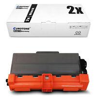 2x Eurotone ECO Toner kompatibel für Brother MFC-8520-DN MFC-8515-DN MFC-8950-DW