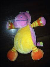 Plüschtier Kuscheltier Schlenker C&A ECS Nilpferd Kuh Pink Orange Toys Mädchen