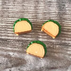 Sylvanian Families Kitchen Food Picnic Spares   British Cheese Toasties Sandwich