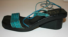 Leather Strappy Sandals Size 6 UK 39 EU