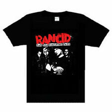 Rancid Dominoes Group photo  Music punk rock t-shirt  NEW