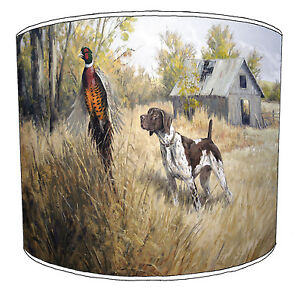 Lampshades Ideal To Match Hunting Scene Wallpaper Pheasant Stag Deer Pictures