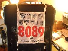 PETTORALE NUMERO DI GARA  1979  ENGADINA  ENGADIN SKIMARATHON SKI CLUB