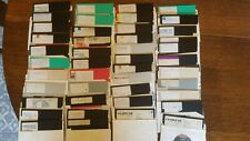 Commodore 54/128 Floppy Disks, over 100 disks with games